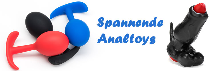 Spannende Analtoys