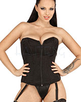 Corset with Suspenders