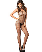Seamless Net Catsuit