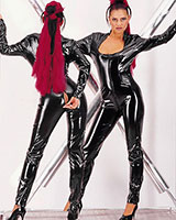 Catsuit with 2-Way Zipper