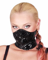 Gloss PVC Mouth Mask