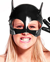 Catmask aus Latex