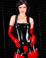 Latex Body with Open Crotch - Unisex