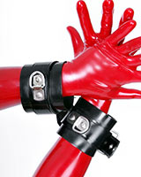 Glued Latex Wrist Restraints - 3 mm