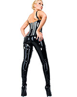 Latex Leggings - with Zipper through Crotch or Open Crotch