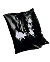 Stitched Latex Pillow Case with Zipper