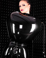 Inflatable Latex Straight Jacket - 0.6 mm