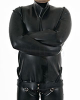 Latex Straight Jacket - 0.9 mm - also as Lockable