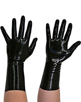 Anatomical Short Latex Gloves - also Available with Spikes