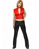 Anatomical Wide Leg Latex Pants - also with internal Dildo(s)