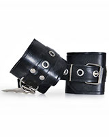 Black Rubber Cuffs