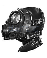 Bondage Rubber Gas Mask