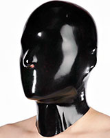 Anatomical Fetisso Closed Latex Hood with Nose Holes