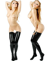 Anatomical Moulded Long Latex Stockings
