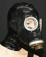 Gasmask - Optional with Internal Condom