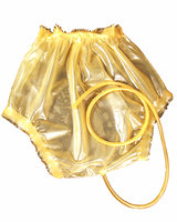 Ladies' Latex Diaper Pants with Piss Tube