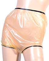 Ultra-Thin Latex Diaper Pants - 0.1 mm