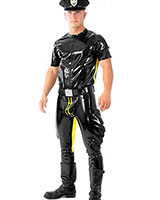 Glued 0.9 mm Latex Codpiece Breeches with Options