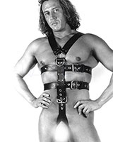 Full Rubber Body Harness with Cockring
