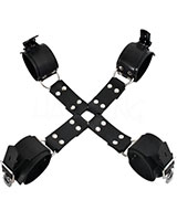 Rubber Hog Tie with Arm and Leg Restraints - also as Lockable