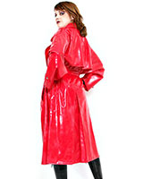 Ladies' Sewed Latex Trenchcoat