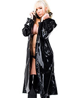 Latex Trenchcoat