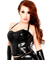 Datex Overbust Corset with Back Zipper