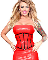 Datex Corset with Front Zipper