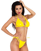 Bikini-Set aus Datex