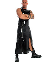 Glued Latex Gent's Long Skirt