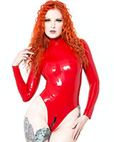 Glued Red Latex Baroness Body