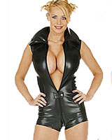 Leather Body with Zipper - up to Size 3X