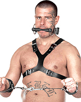 Half Body Leather Harness