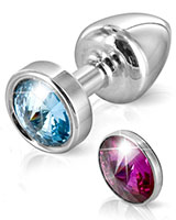 ANNI MAGNET Anal Plug with Interchangeable Swarovski® Crystals