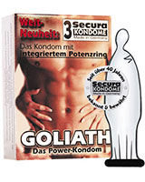 GOLIATH - Condom with Potens Ring - 24 Condoms