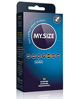 MY.SIZE - 10 Condoms - 7 Sizes