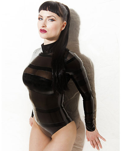 Glued Latex Bandage Body