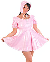 PVC Sissy Costume Dress for Ladies