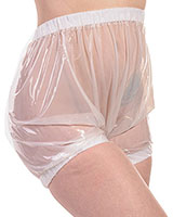 PVC Comfort Pants with Internal Elastics for Ladies and Gents