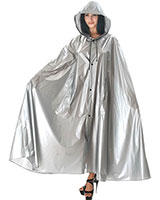 PVC Cape with Detachable Hood