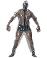 PVC Total Suit with Front Zip
