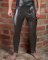 Neoprene Pants with Front Flap with 2 Zips