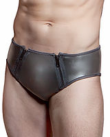 Neoprene Briefs with 2 Zippers