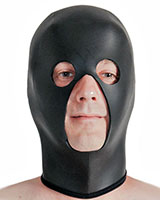 Neoprene Hood with Eyes Openings and Large Mouth-Nose Opening