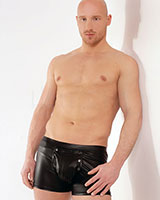 Wet Look Shorts with Codpiece