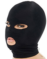 Elastic Hood with Mouth and Eyes Openings
