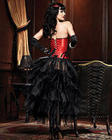 Burlesque Bustle Skirt - Tournüre aus Tull