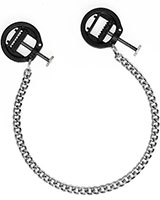Adjustable Hoffmann Nipple Clamps with Chain