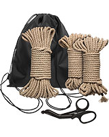 Kink BIND & TIE INITIATION KIT 5 Piece Hemp Rope Kit
